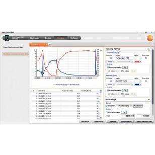 testo 176 H1 - 4 kanálový záznamník teploty a vlhkosti