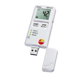testo 184 G1 záznamník teploty, vlhkosti a otrasov