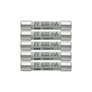 Sada náhradných poistiek (5x630mA/1000V)