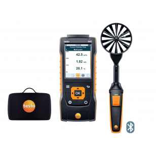 testo 440 s vrtuľovou sondou 100 mm s Bluetooth SET