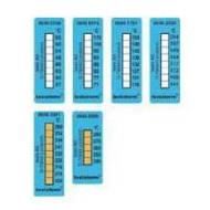 Merací termopásik  +116  až  +154 °C