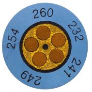 Mini-indikátor  +116  až  +138 °C