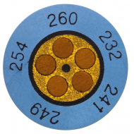 Mini-indikátor  +143  až  +166 °C
