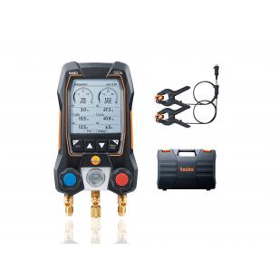 testo 550s BASIC SET - Digitálny servisný prístroj s kliešťovými teplotnými sondami