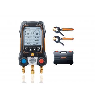testo 550s SMART SET - Digitálny servisný prístroj s bezdrôtovými kliešťovými teplotnými sondami