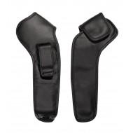 Kožené ochranné puzdro na prístroj s držiakom na opasok